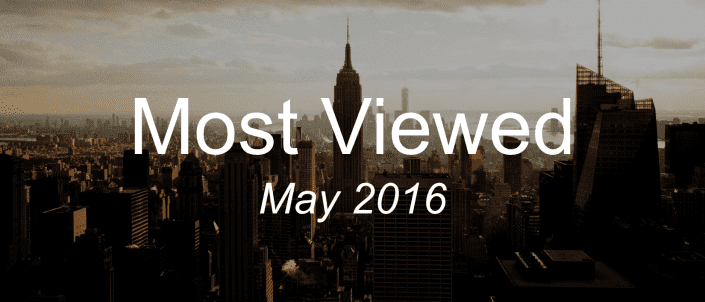 Most viewed May 2016