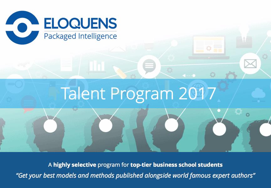 2017 Talent Program Eloquens