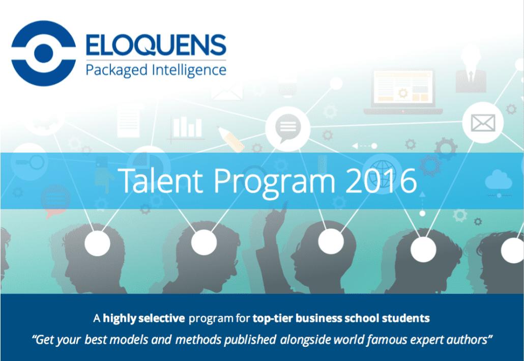 Talent Program 2016 Brochure