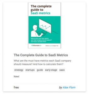 The Complete Guide to SaaS Metrics