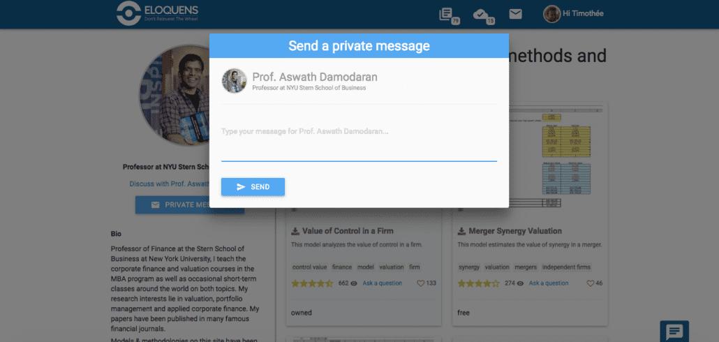 Send a Private Message