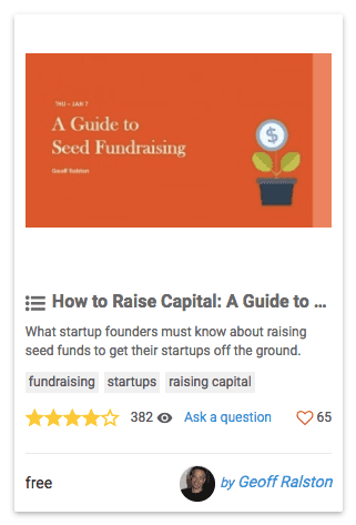 How to Raise Capital: A Guide To Fundraising