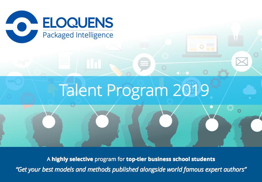 2019 Eloquens Talent Program