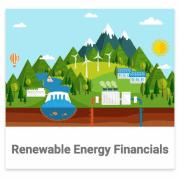 Renewable Energy Financials Category