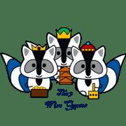 Three Wise Qoons
